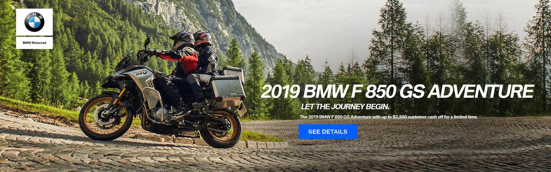 2019 BMW F 850 GS Adventure