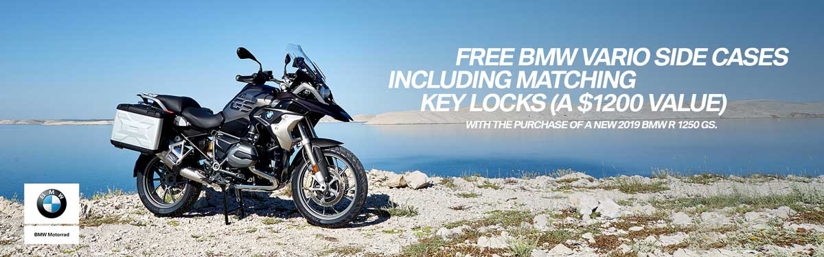 Free BMW Vario Side Cases