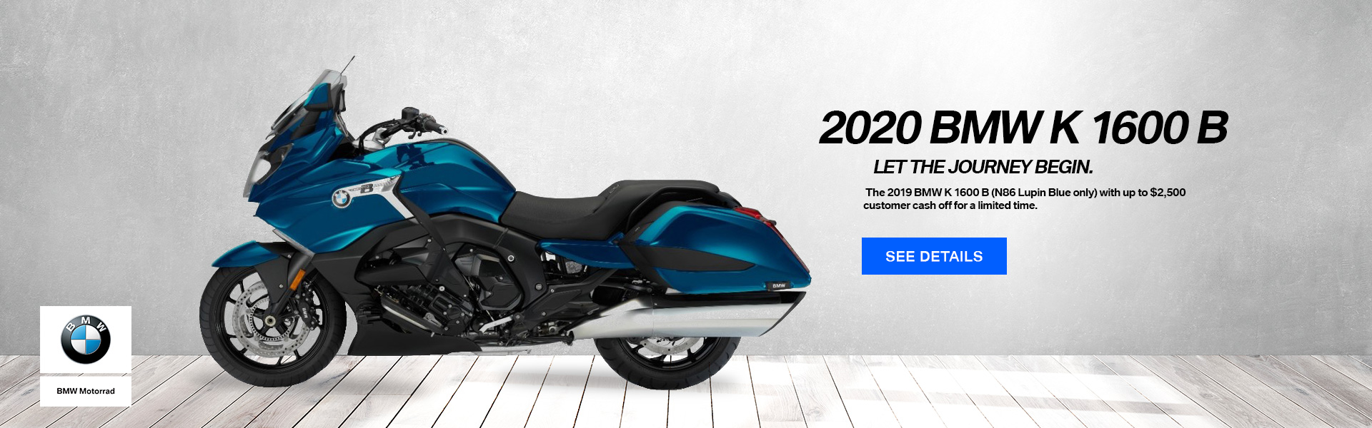 2020 BMW K 1600 B