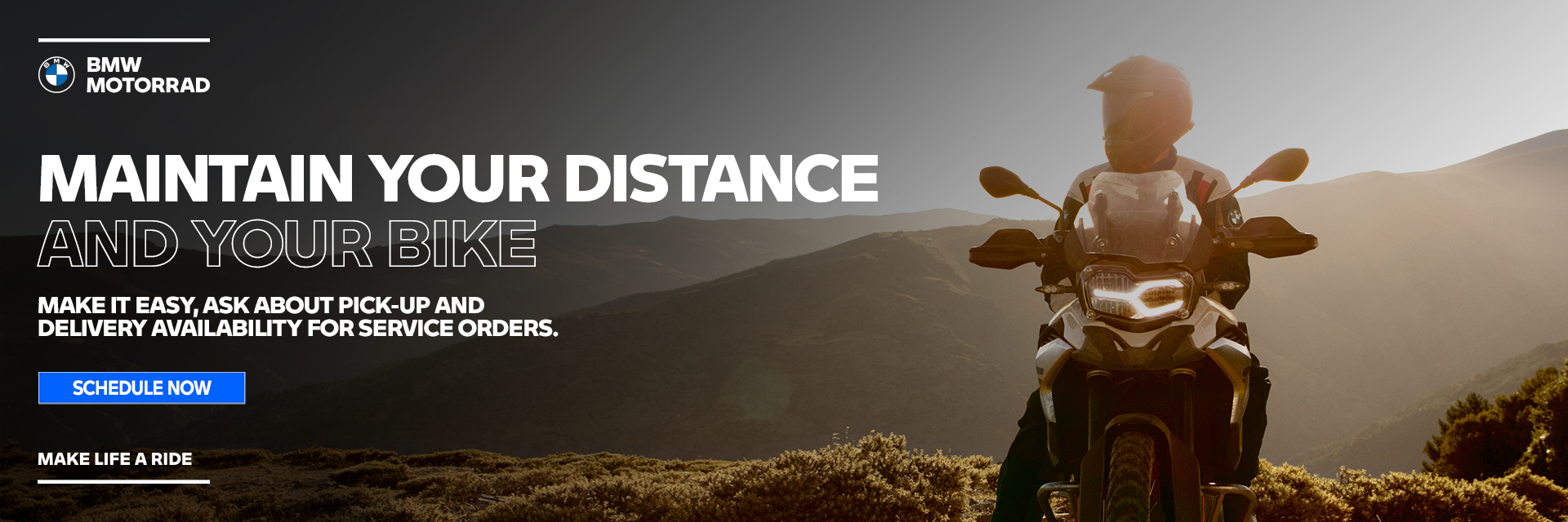 Maintain Your Distance And Your Bike